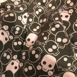 Yak Pak Bags - Set of 3 - skull pattern bags